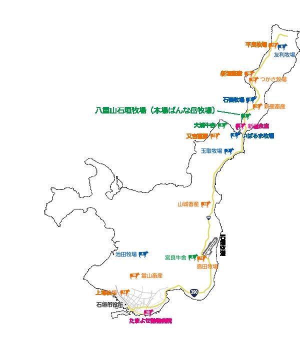 石垣島MAP